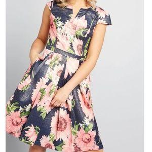 Modcloth Personal Boldness Dress
